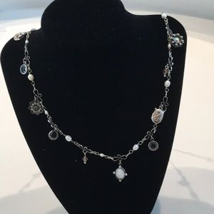 Sorrelli pearl and Crystal necklace